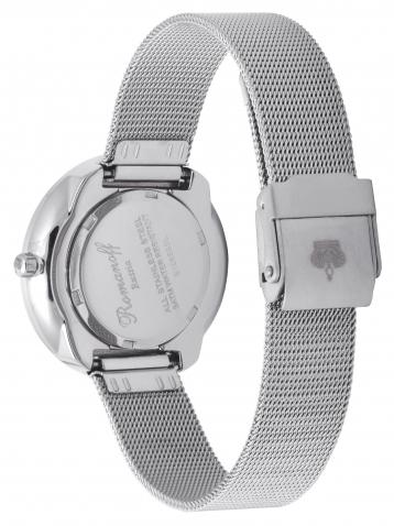 Комплект часы модель 10659G1 «Milano» и браслет c кристаллами