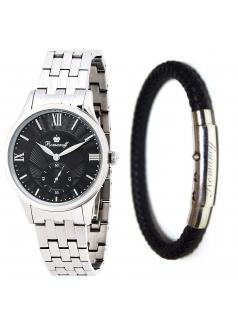 Комплект часы модель 10647G3 «Romanoff» и браслет «Stylish steel»